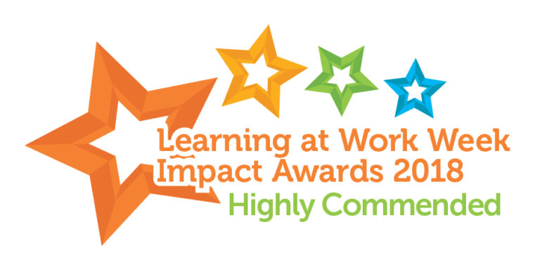 Highly Commended Learning At Work Week Award