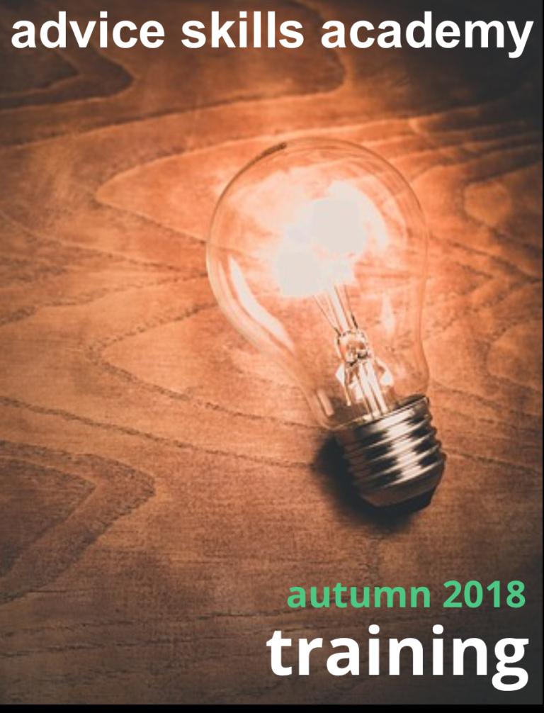 ASA Autumn Training 2018